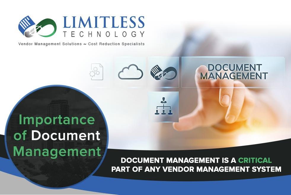 Importance of Document Management
